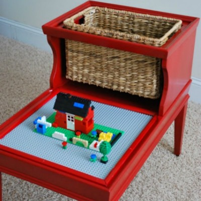 Lego Table by Fussy Monkey Business