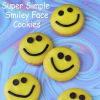 Playroom smiley face cookies  200x200