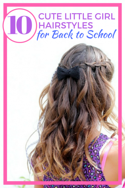 These cute hairstyles for little girls are perfect for back to school