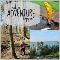 10 Ways to Make Adventure Happen by Mommy Loves Trees