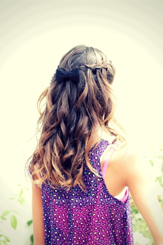 Strange 10 Cute Hairstyles For Girls Hairstyles For Men Maxibearus