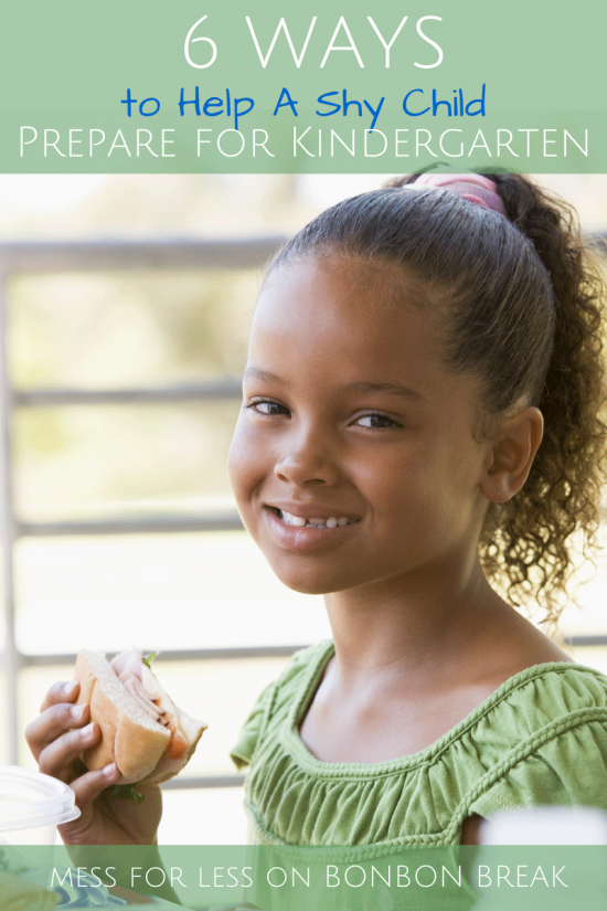 6 Ways to Help A Shy Child Prepare for Kindergarten