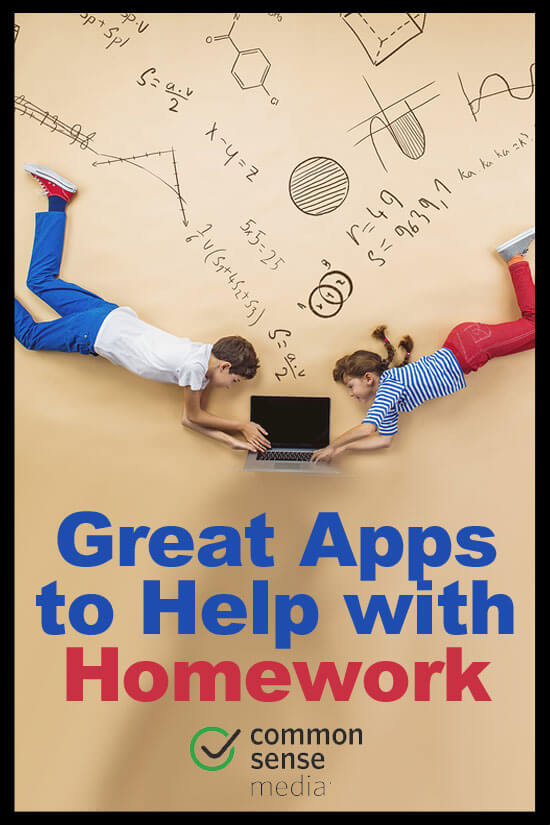 homework applications for iphone