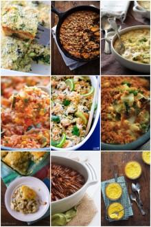 More than 50 easy casserole recipes