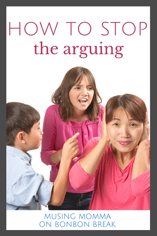 How To Stop Kids' Arguing While Still Letting Them Be Heard how to stop kids arguing