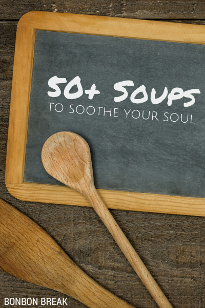 This time of year, the more soup recipes you can find, the better. This collection has veggie soups, meat soups, noodle soups, seafood soups and more!