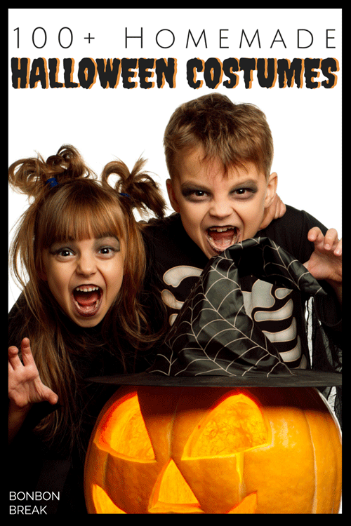 Half the fun of Halloween is the create of DIY Halloween Costumes. Peruse these for inspiration and make your own homemade Halloween costume