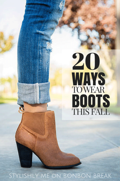 20 ways to wear boots