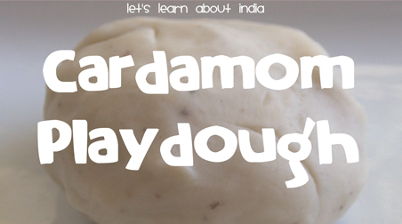 cardamom-playdough