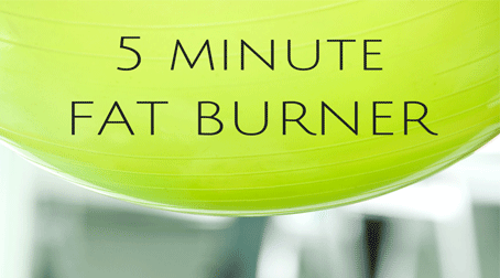 5 Minute Cardio for your Morning Routine