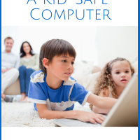 This post has very helpful tips and tools on how to set up a kid-safe computer - sponsored by @KidsEmail