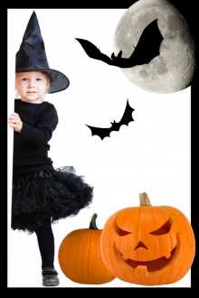 trick-or-treat with toddlers