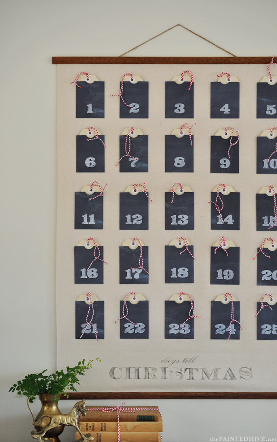 Advent calendars 25 creative diy ideas for Diy christmas advent calendar ideas