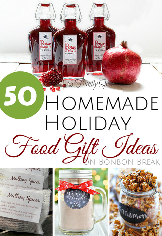 pin it for later homemade holiday food gift ideas - Homemade Christmas Food Gifts