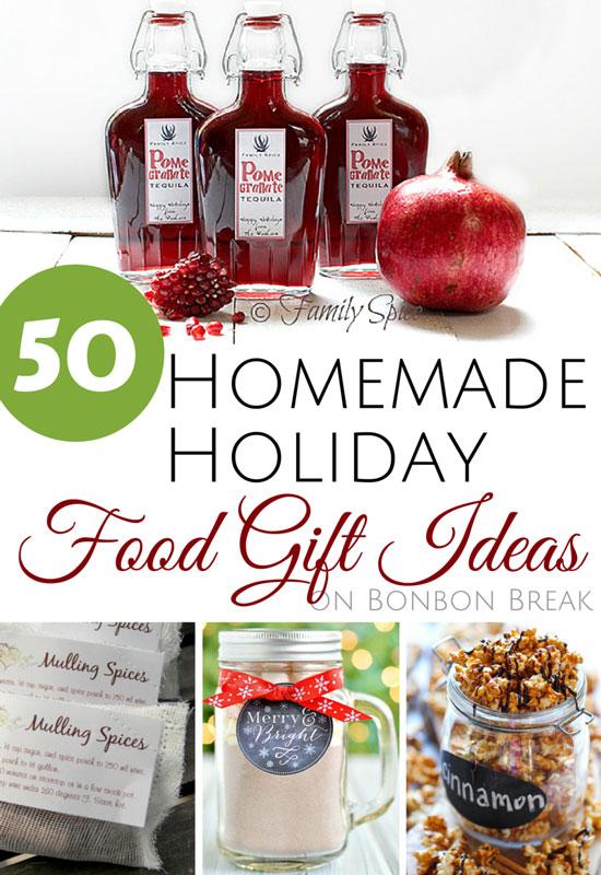 Homemade holiday food gift ideas — bonbon break