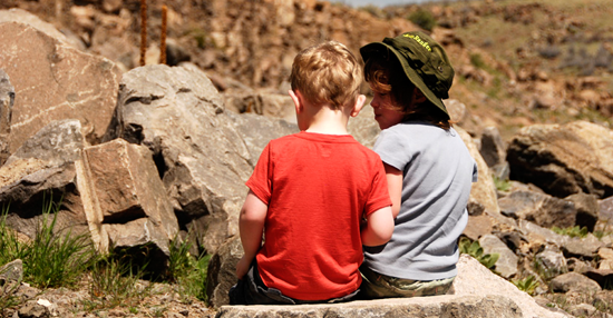Rock Climbing with Kids: Is it Selfish?