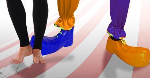Leggings or Clown Shoes