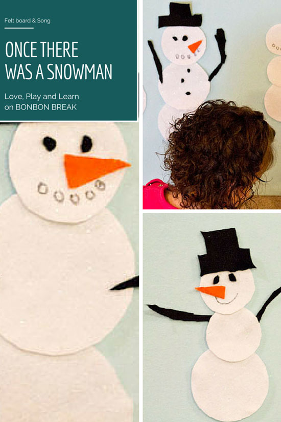 do you want to build a snowman felt board and rhyme