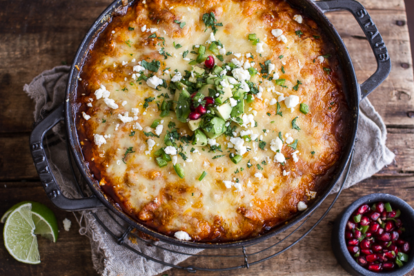 One Pot Cheesy Turkey Tamale Pie
