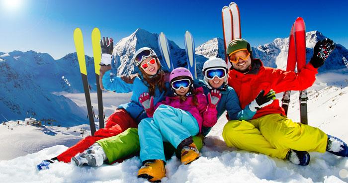 how to plan a group ski trip