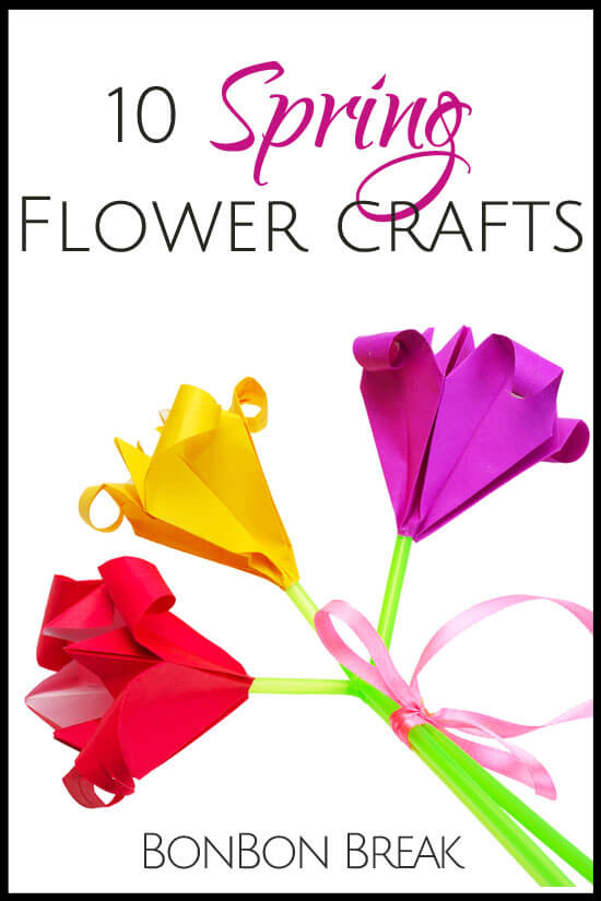 10 Spring Flower Crafts For Kids