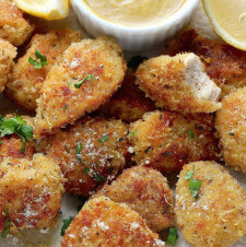Rosemary Parmesan Chicken Nuggets