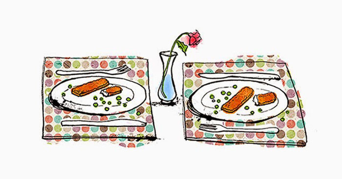 Dinner for 2 by Lisa Maltgy