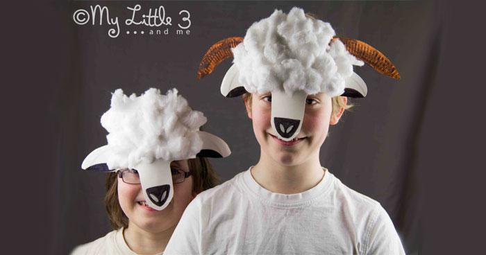 lamb and sheep masks