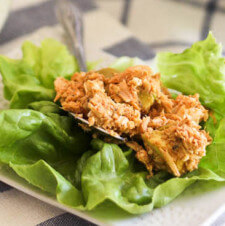 Paleo Tuna Avocado Lettuce Wraps