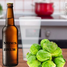 What Beats A Pint and Brussel Sprouts?