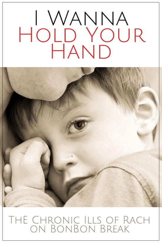 Sometimes, all it takes to resolve difficulties with your young child, is to offer your hand.