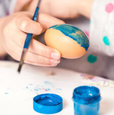 Space Eggs Easter Craft for Kids