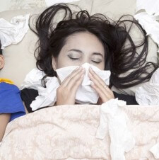What To Do When You And Your Baby Are Sick