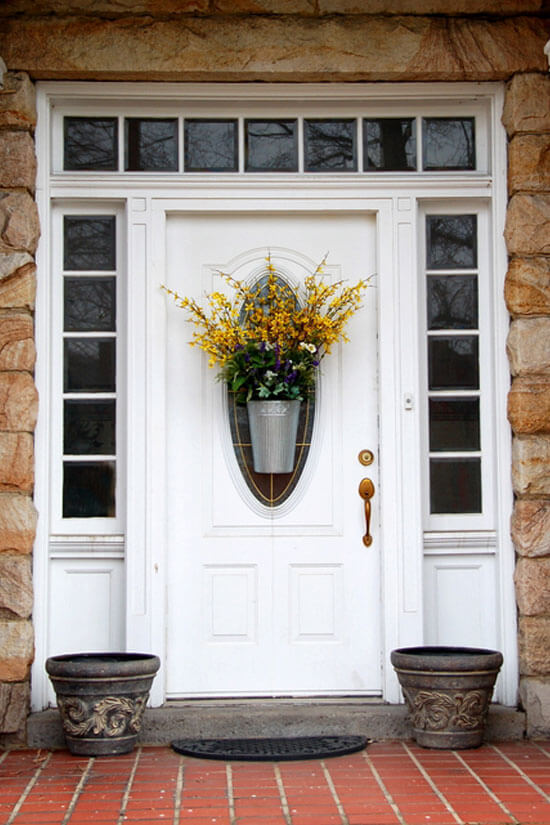 Improve your front door curb appeal for under 20 Curb appeal doors