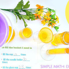 Fill Your Bucket: Simple Math – Exploring Volume