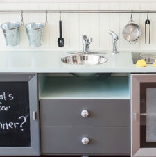 From TV Stand to Play Kitchen for Just $90!