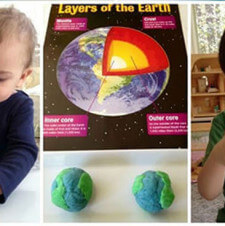 Earth Day Play Dough for Tots