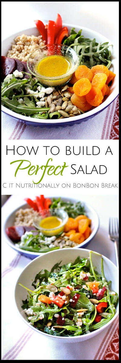 How to Build a Perfect Salad - these easy guidelines will set you on the right path!