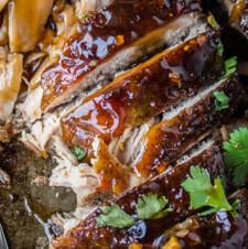 Asian Pork Tenderloin with Ginger Glaze