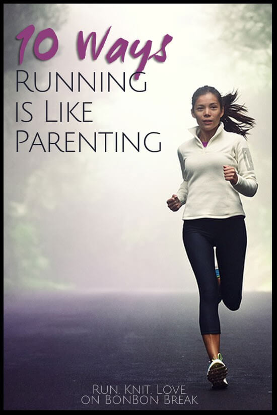 10 ways running is like parenting