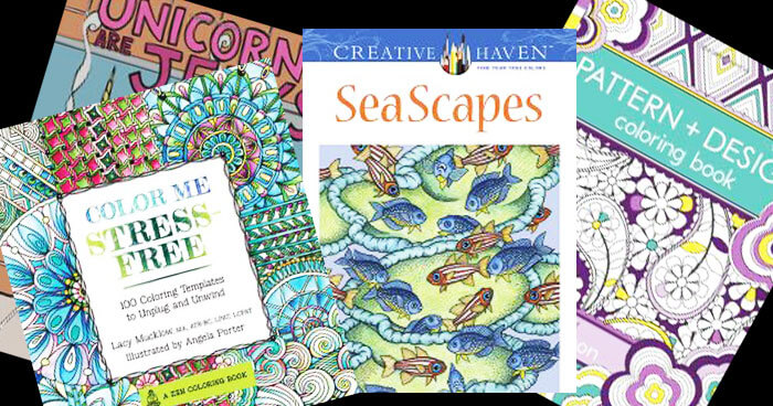 30 Adult Coloring Books