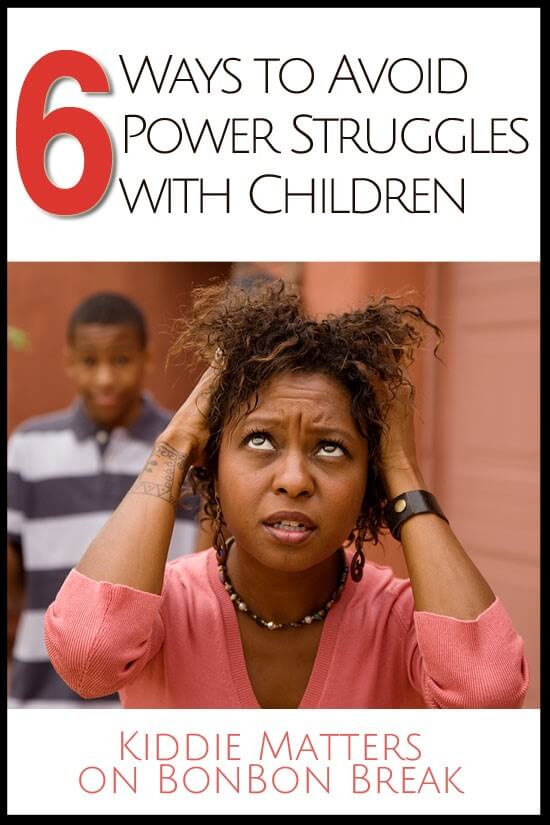 6 ways to avoid power struggles with children