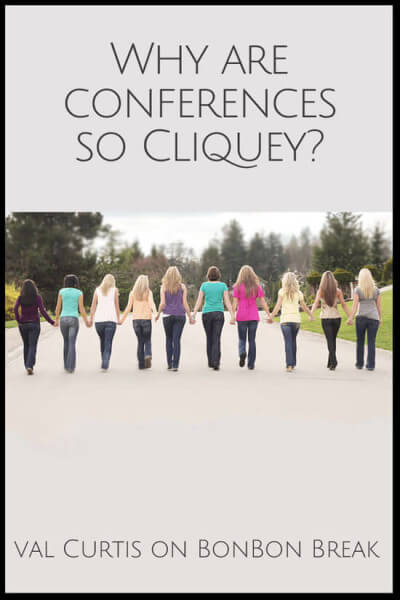 Why Are Conferences so Cliquey?
