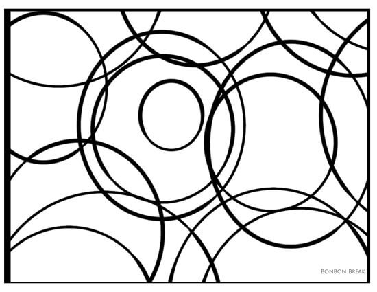 Color & Doodle: Circles (Printable