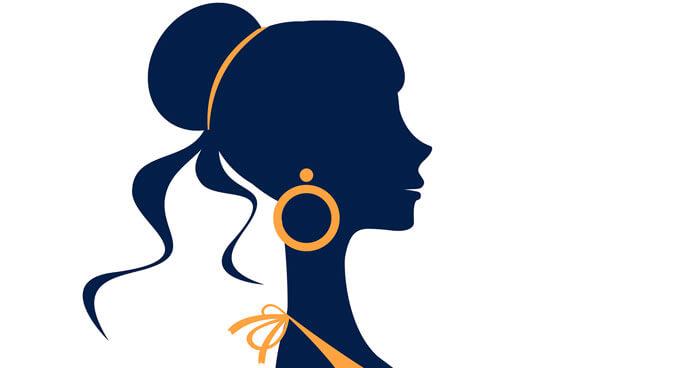 Earrings for face shape