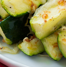 Garlic, Lemon & Parmesan Oven-Roasted Zucchini