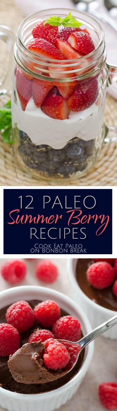12 Paleo Summer Berry Recipes | BonBon Break