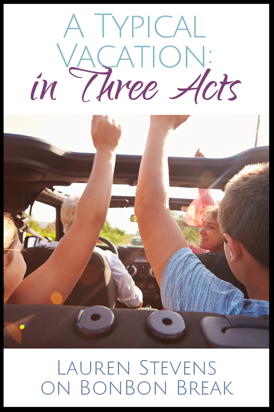 A Typical Vacation: Three Acts - we love this funny look at a summer roadtrip / vacation - they are normally ALL bliss, right?