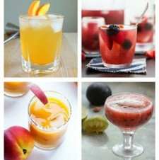 Stone Fruit Cocktails