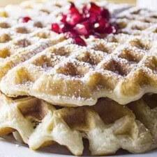 Amazing Vegan Waffles